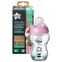 Бутылка Tommee Tippee Closer To Nature Glass 250ML Girl