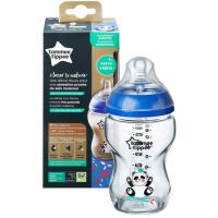 Бутылка Tommee Tippee Closer To Nature Glass 250ML Boy