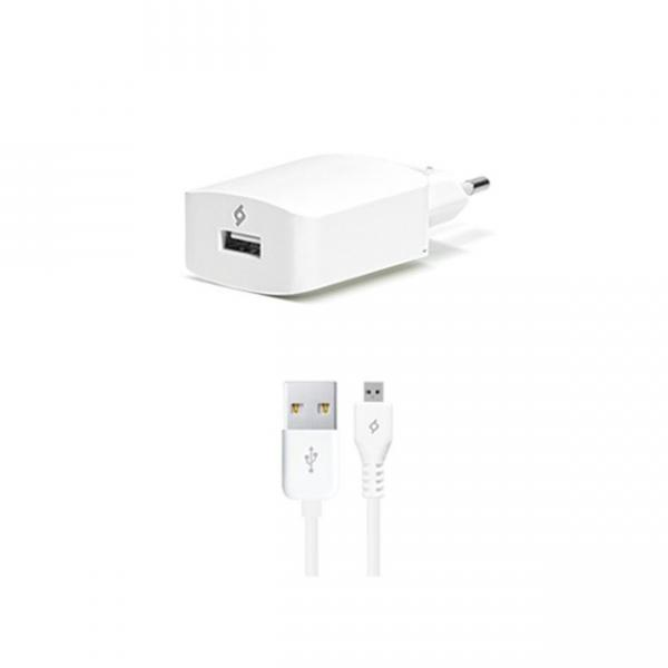Ttec SpeedCharger USB Travel Charger, 2.1A, incl. Lightning Cable 2SCS01
