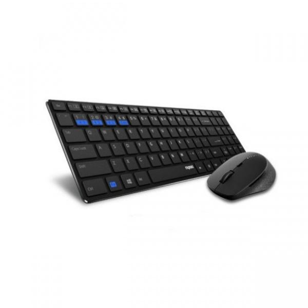Клавиатура и мышь Rapoo 9300M