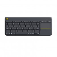 Logitech Wireless Touch Keyboard K400 Plus Black USB