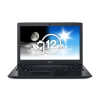 "Acer Aspire E15, E5-576G-391C, Obsidian Black, 15.6"", i3-6006U, GeForce 940MX, 4GB DDR3L, 500GB HDD, DVD"