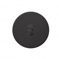 Hoco CW14 Round Wireless Charger, Black